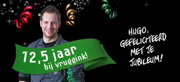 12,5 jarig jubileum Hugo Oosterink!