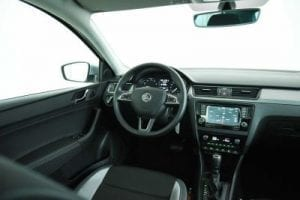 ŠKODA Rapid Spaceback interieur